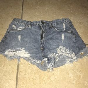 Articles of Society Jean Shorts Size 26